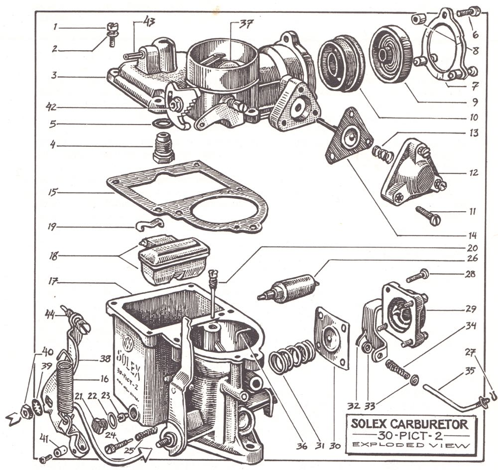 How To Keep Your Volkswagen Alive Scot Hackers Foobar Blog Vw 1200 Beetle Wiring Diagram Electrical System Schematic